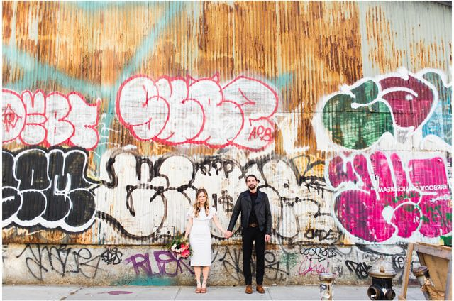 Williamsburg Elopement Graffiti